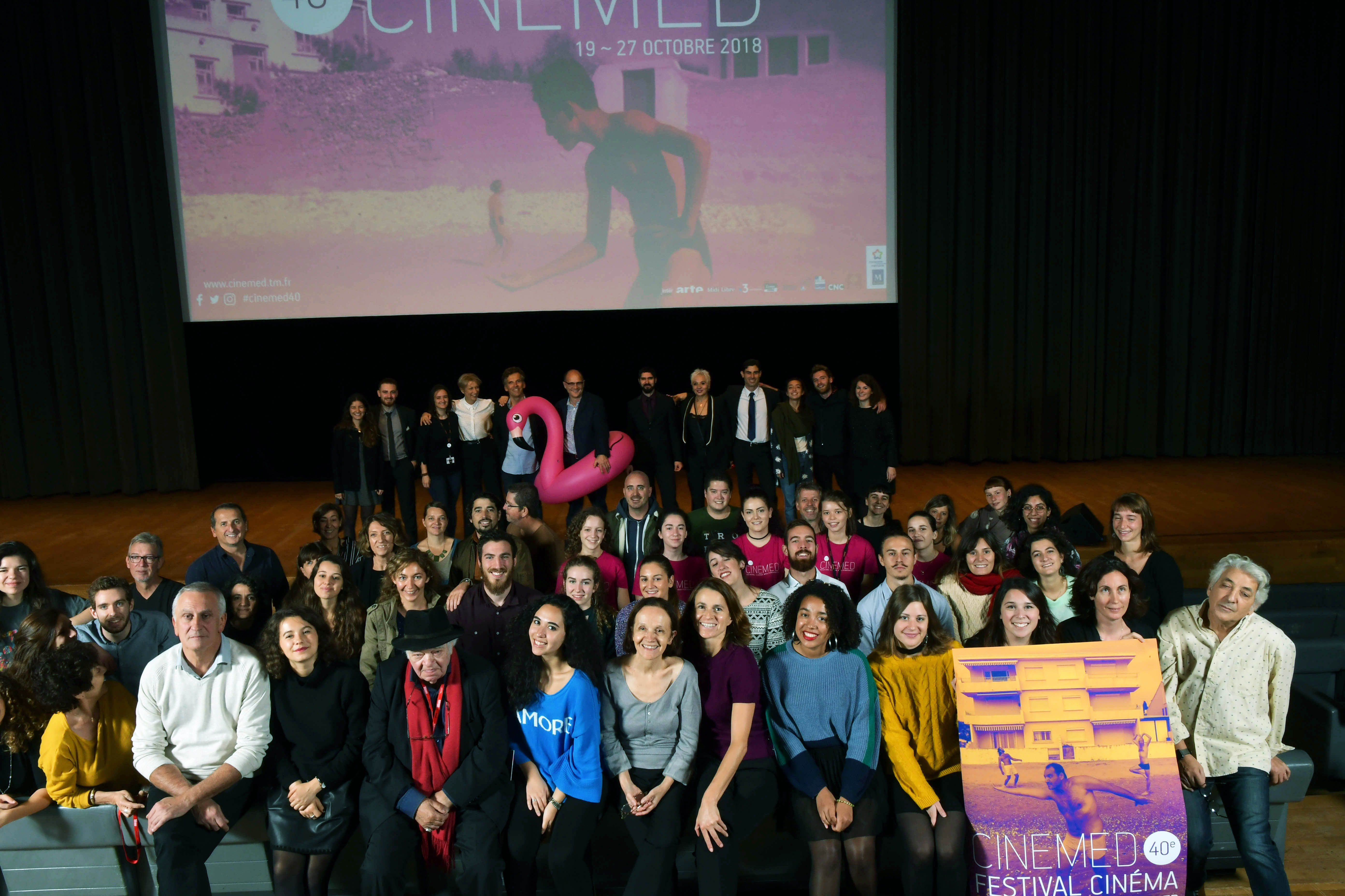 Benevoles Festival Cinemed Montpellier