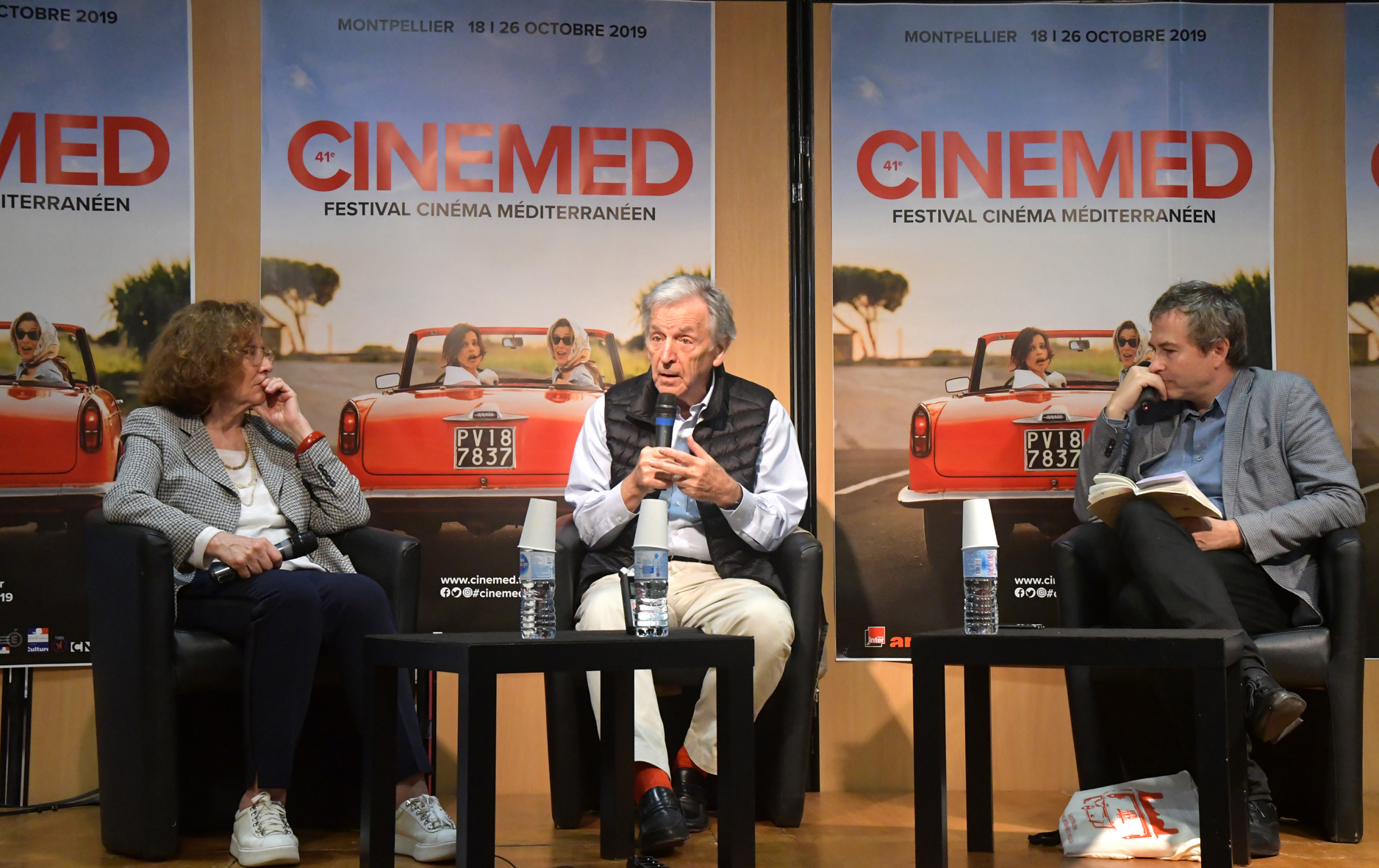 Costa-Gavras Adults in the Room Cinemed Montpellier