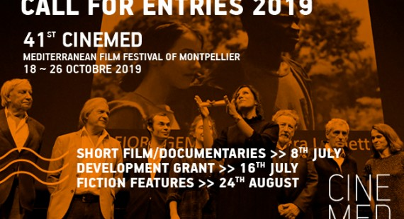 Call for entries CINEMED 2019 competition inscription